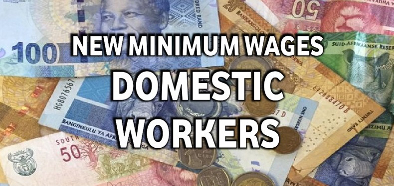 Domestic Workers' Wages up 1 December 2016