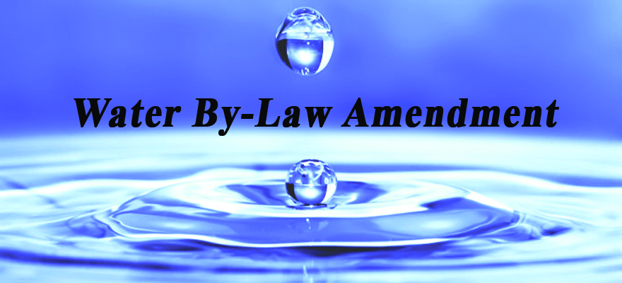 THE CITY OF CAPE TOWN'S DRAFT WATER AMENDMENT BY-LAW OF 2017
