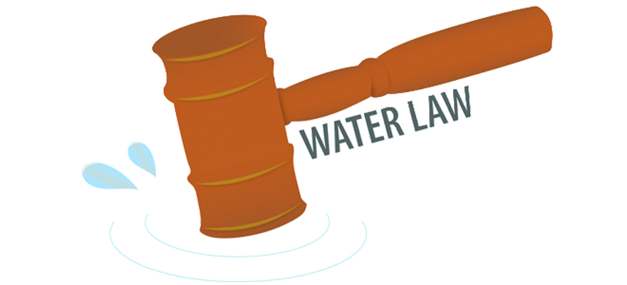 CHANGES TO WATER BY LAW ARE NOW LAW!