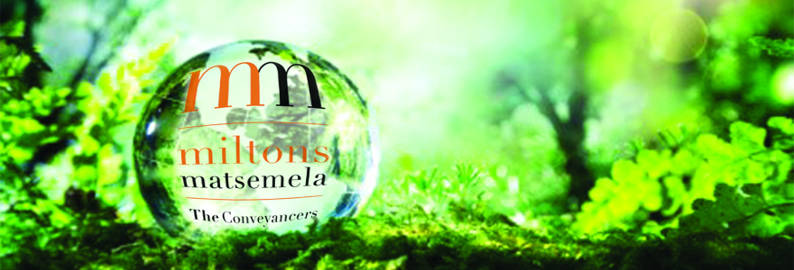MILTONS MATSEMELA GOING GREEN – WE ARE NOW EMPOWERED BY THE SUN